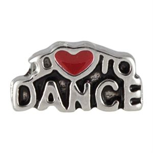 Picture of I Love To Dance Charm