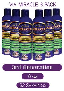 Picture of ViaViente Miracle   8oz   Bottle   6 pack